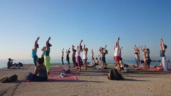 Yoga en la playa – con Flavio