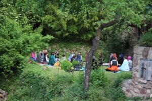 Retiro de yoga en La Bartra (Tarragona) con Bilyana